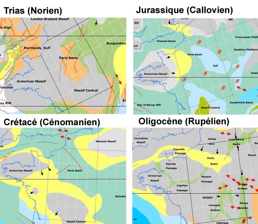 Paleogeographie