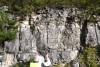 Le mur de la couche haute