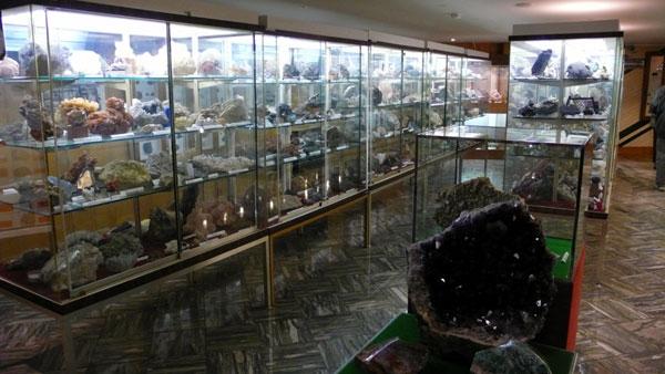 Collection de minéralogie