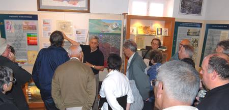 Visite du musée du pétrole guidée par Daniel Rodier